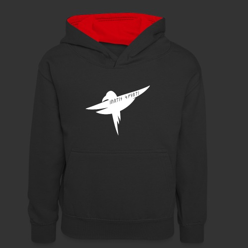Kill the Army of Swort - Teenager Contrast Hoodie