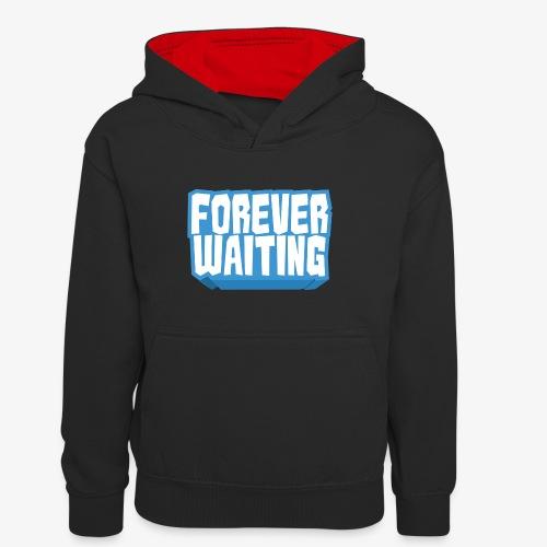 Forever Waiting - Teenager Contrast Hoodie