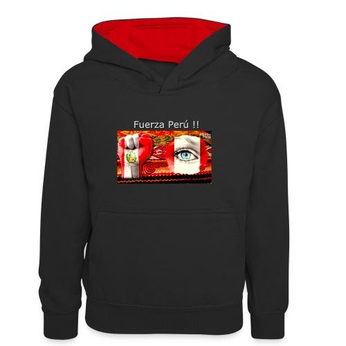 Telar Fuerza Peru I - Sudadera con capucha para adolescentes
