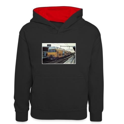 Dubbeldekker in Almere Buiten - Teenager contrast-hoodie