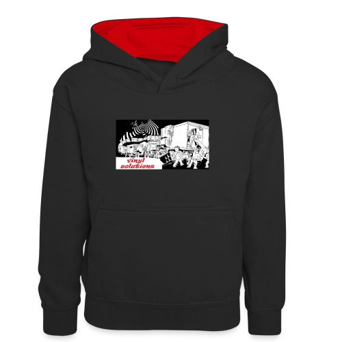 vinyl solutionz - Teenager Contrast Hoodie