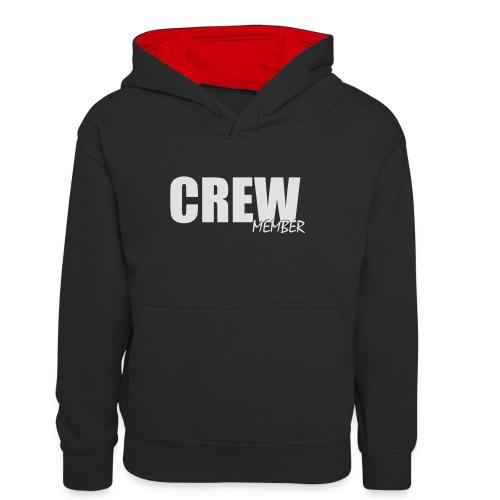 no name - Teenager contrast-hoodie
