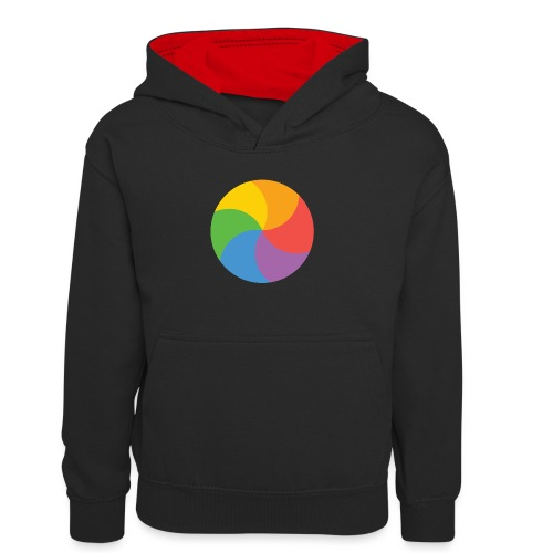 BeachBal - Teenager contrast-hoodie