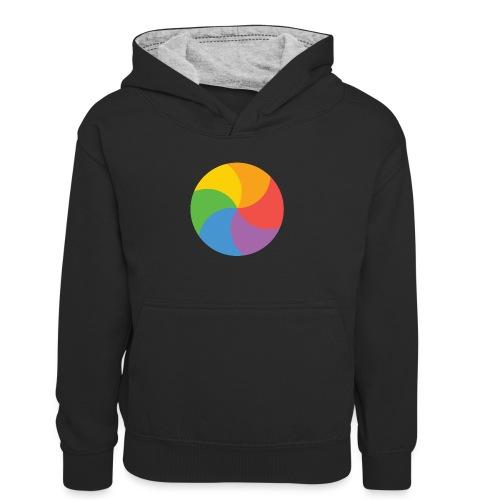 BeachBal - Teenager contrast-hoodie