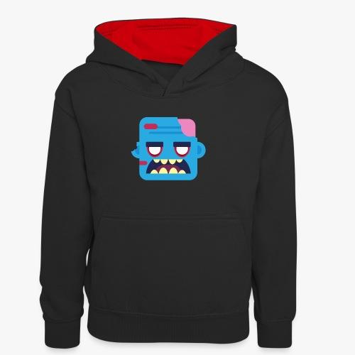 Mini Monsters - Zombob - Kontrasthoodie teenager