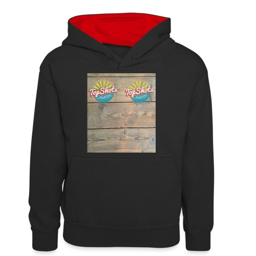 TenSlippers - Teenager contrast-hoodie