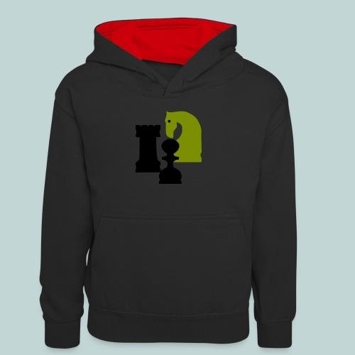 Figurenguppe1 - Teenager Kontrast-Hoodie