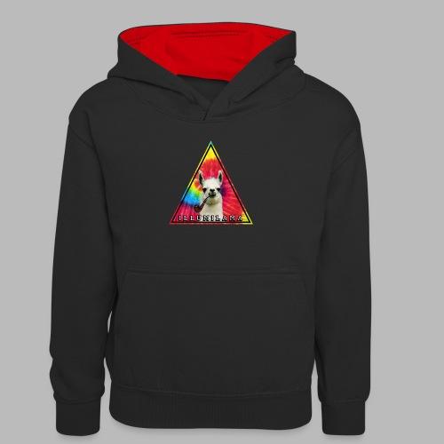 Illumilama logo T-shirt - Teenager Contrast Hoodie