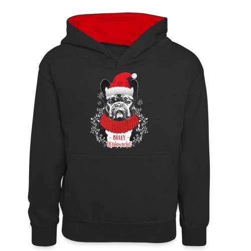 Bully Weihnacht Part 2 - Teenager Kontrast-Hoodie