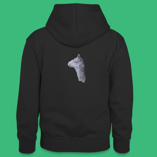 Lama KristalArt / alle kleuren - Teenager contrast-hoodie