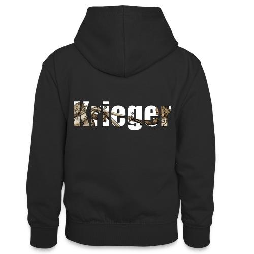 krieger - Teenager Kontrast-Hoodie