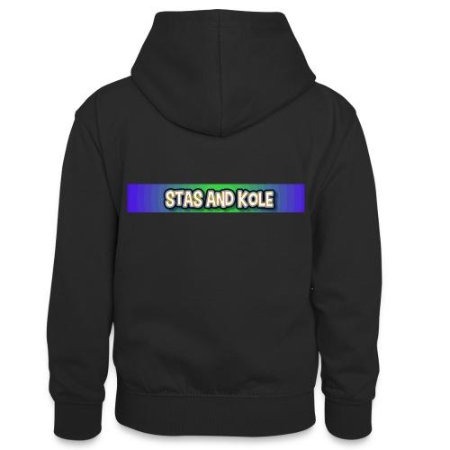 Shirt Logo - Teenager Contrast Hoodie