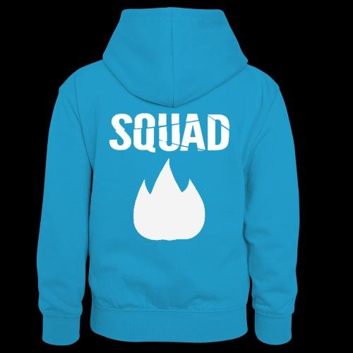 squad 2 - Teenager contrast-hoodie