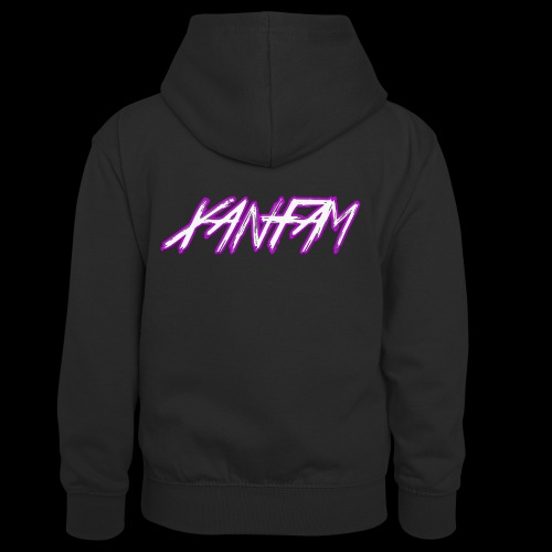 XANFAM (FREE LOGO) - Teenager Kontrast-Hoodie