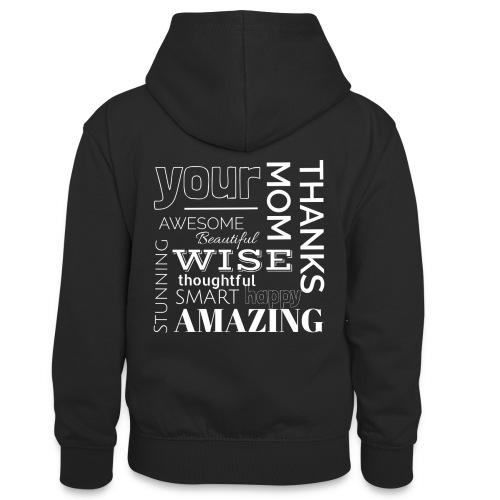 Amazing clothes - Sudadera con capucha para adolescentes