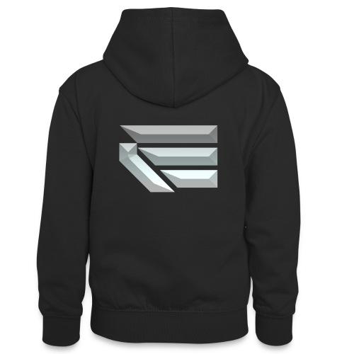 Edmondson's YouTube Logo - Teenager Contrast Hoodie