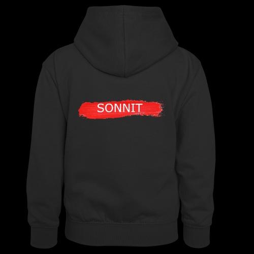 Sonnit Paint Splodge - Teenager Contrast Hoodie