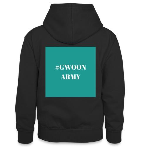 #gwoonarmy - Teenager contrast-hoodie