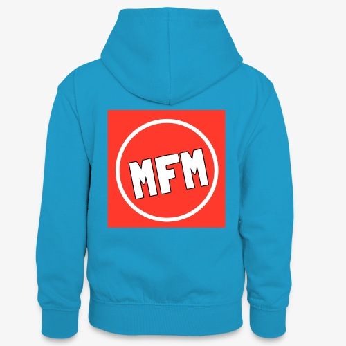 MrFootballManager Clothing - Teenager Contrast Hoodie