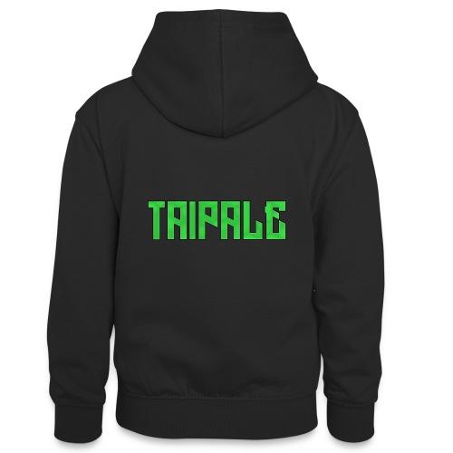 Taipale - Teinien kontrastivärinen huppari