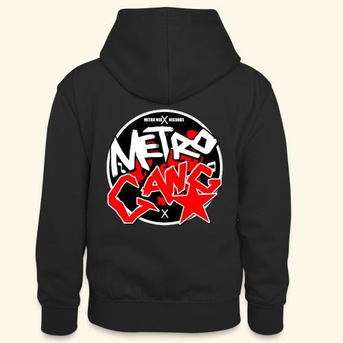 METRO GANG LIFESTYLE - Teenager Contrast Hoodie
