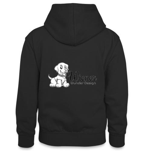 Wiener Wunder Hund - Teenager Kontrast-Hoodie