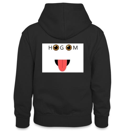 HetGameMisterie Logo - Teenager contrast-hoodie