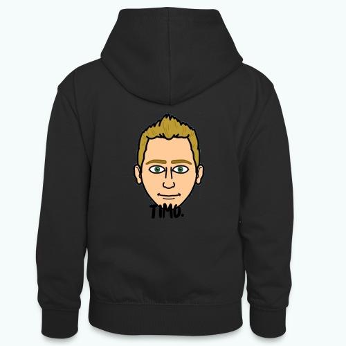 Logo TIMO. - Teenager contrast-hoodie