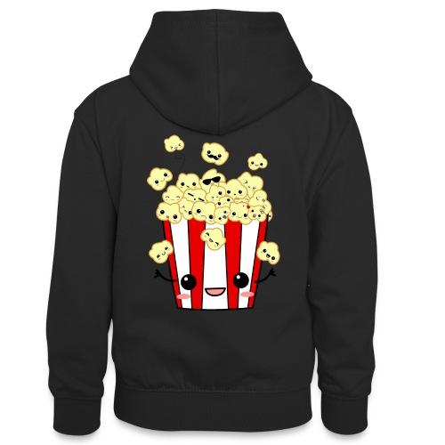 PopCorn - Sudadera con capucha para adolescentes