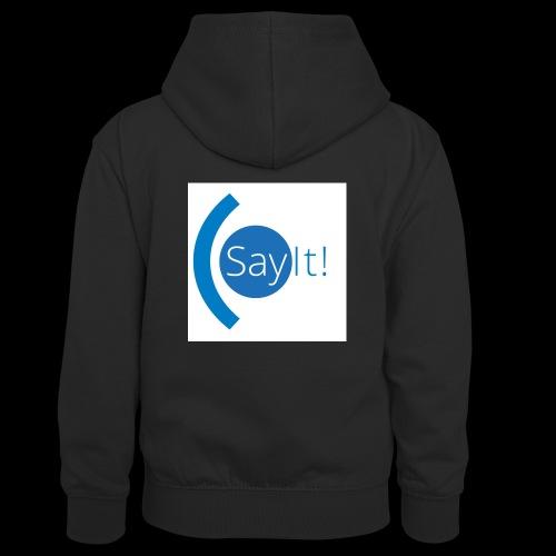 Sayit! - Teenager Contrast Hoodie