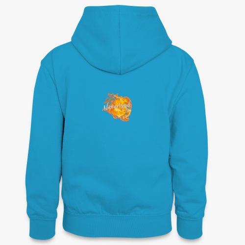 NeverLand Fire - Teenager contrast-hoodie