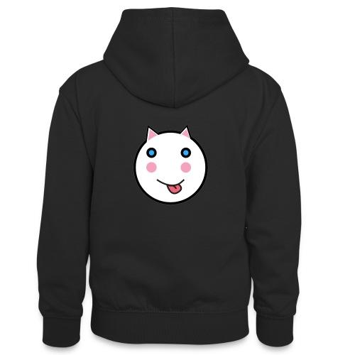 Alf Cat | Alf Da Cat - Teenager Contrast Hoodie