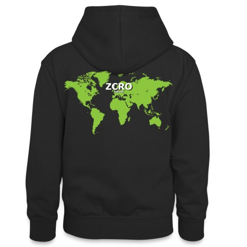 World Z€RO official - Teenager Contrast Hoodie