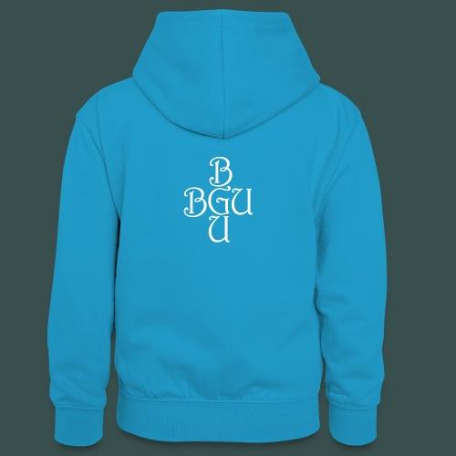 BGU - Teenager Kontrast-Hoodie