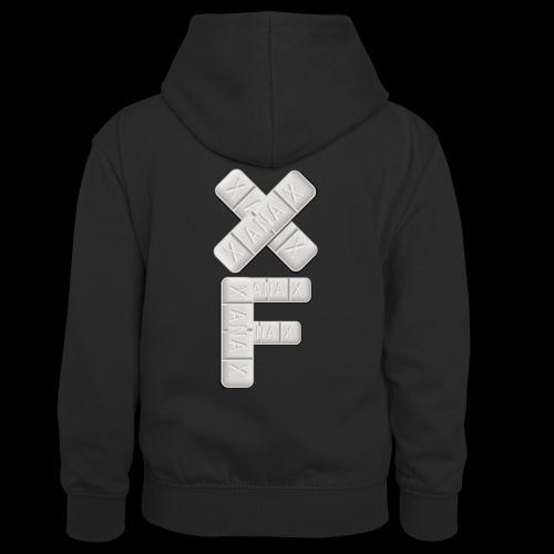 XF Xanax Logo - Teenager Kontrast-Hoodie