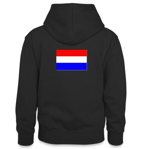 vlag nl - Teenager contrast-hoodie