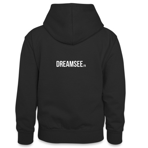 Dreamsee - Sweat à capuche contrasté Ado