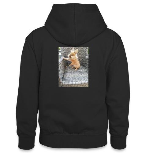 Ninou - Teenager contrast-hoodie