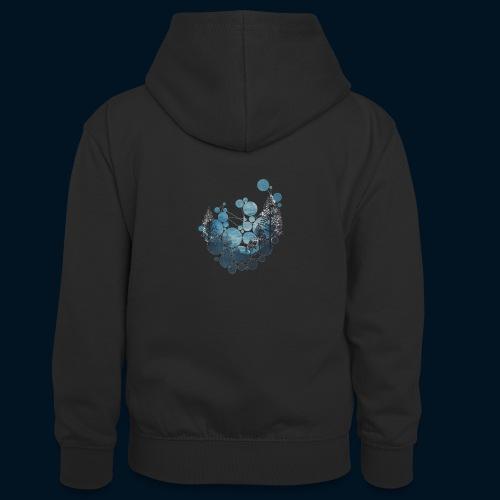Camicia Flofames - Felpa con cappuccio in contrasto cromatico per ragazzi