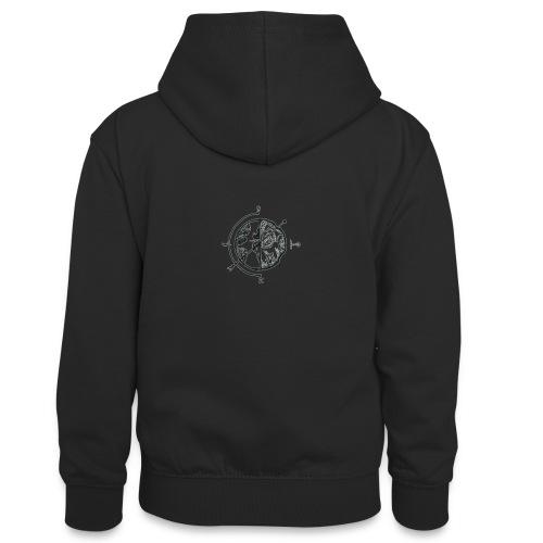 KOMPAS OFFICIAL - Teenager contrast-hoodie