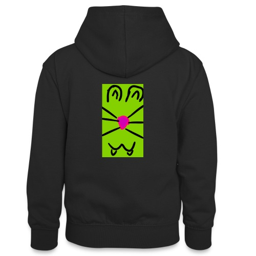 Gato :3 - Sudadera con capucha para adolescentes