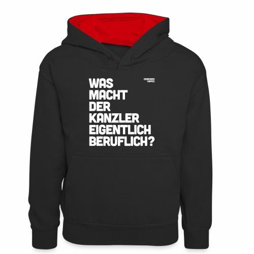 Kanzler - Teenager Kontrast-Hoodie