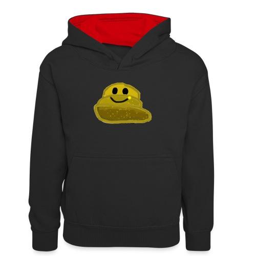 EinfachMC-Logo - Teenager Kontrast-Hoodie