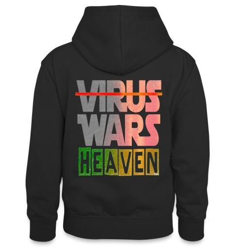 HEAVEN WARS - Sweat à capuche contrasté Ado
