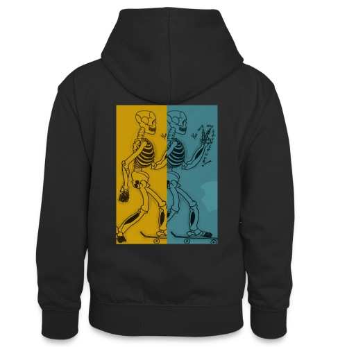 Esqueleto skater: You are my structure! - Sudadera con capucha para adolescentes