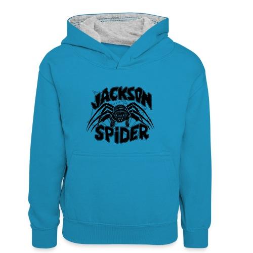 jackson spreadshirt - Teenager Kontrast-Hoodie