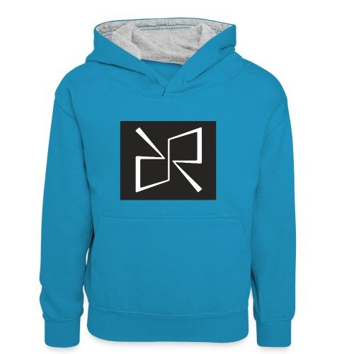 Rymdreglage logotype (RR) - Teenager Contrast Hoodie