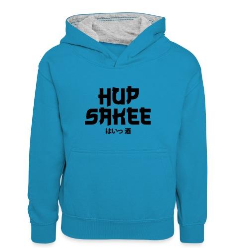 Hup Sakee - Teenager contrast-hoodie