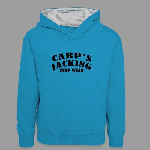 Carp's griffe CARP'S JACKING - Sweat à capuche contrasté Ado