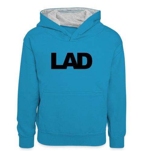 lad - Teenager Contrast Hoodie